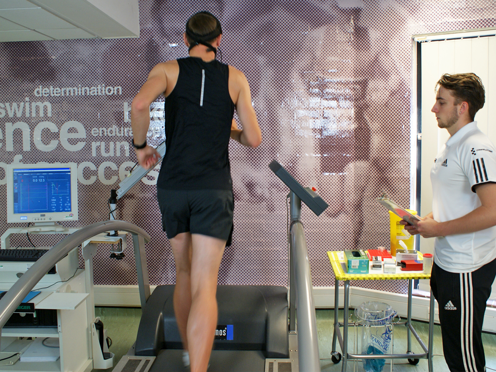 Incremental cycle treadmill test